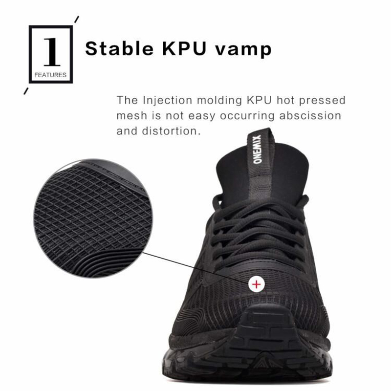 Image 3 - ONEMIX Men Runing shoes Winter KPU Mesh Air Sole Outdoor Casual  Outdoor Jogging Air Cushioning Gym Fitness Sneakers Max 12free shipping  running shoesrunning shoesrunning shoes free shipping