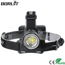 BORUiT 2032 XHP70.2 Zoomable Headlamp Super Bright LED Headlight 5000LM Head Torch 18650 Rechargeable Camping Hunting Flashlight