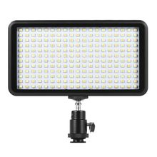 Hot 3C Ultra thin 3200K/6000K Dimmable Studio Video Photography LED Light Panel Lamp 228pcs Beads for Canon Nikon DSLR Camera DV