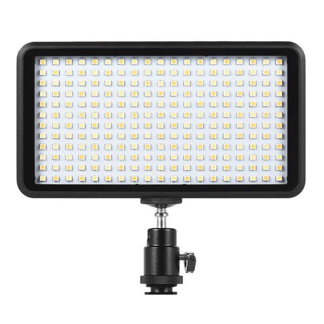 Sıcak 3C Ultra thin 3200 K/6000 K kısılabilir stüdyo Video fotoğrafçılığı led ışık panel lambası 228 adet boncuk Canon Nikon DSLR için kamera DV