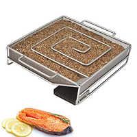 Diniwell gerador de fumaça fria para churrasco bacon peixe salmão carne poeira quente e fumar salmão queimar ferramentas fumante