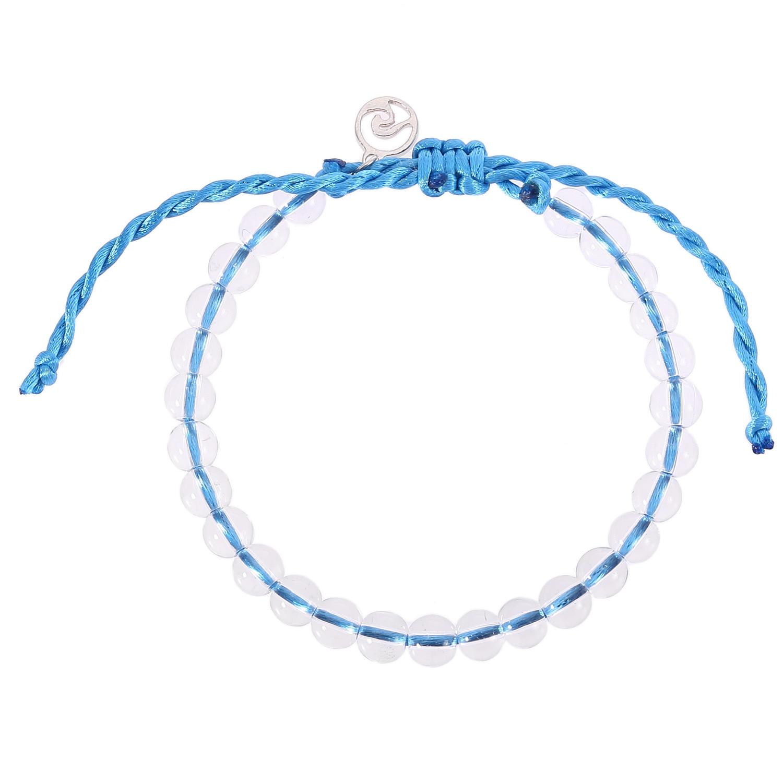 Lwmmd vida pura boho grânulo praia surf pulseiras charms artesanais onda amizade pulseira cera corda pulseiras & bangles