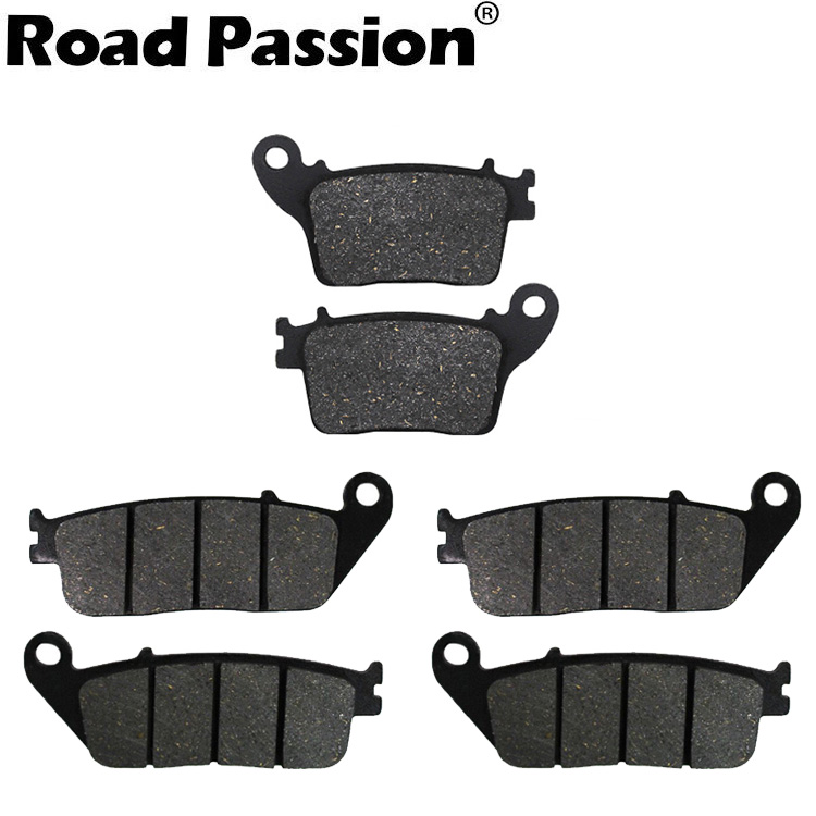 Road Passion Motorcycle Front and Rear Brake Pads for HONDA CB <font><b>600</b></font> F7/F8/F9/FA NO ABS <font><b>Hornet</b></font> <font><b>600</b></font> 2007 <font><b>2008</b></font> 2009 2010 FA226 FA436 image