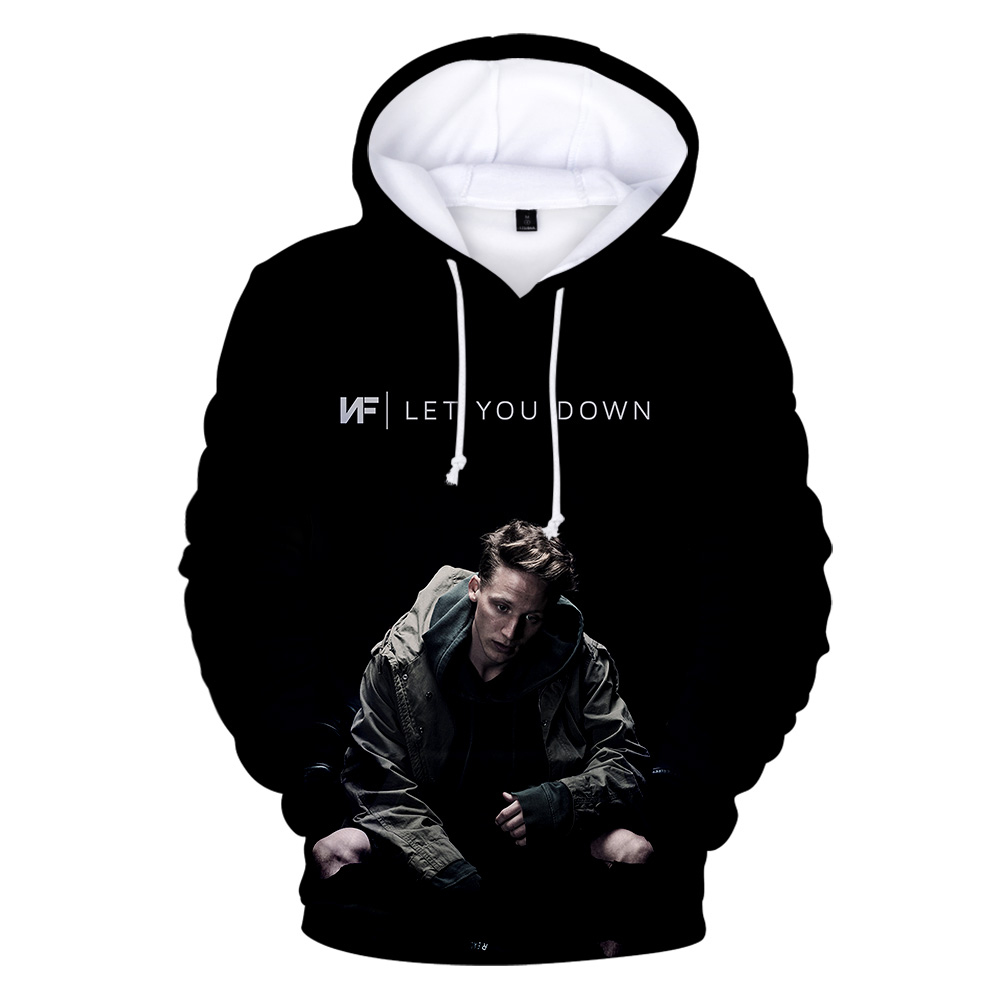 NF 3D Print Fashion Casual Sweatshirts Hoodie  2