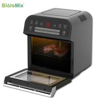 BioloMix 12L 1600W Air friteuse four grille-pain rôtissoire et déshydrateur avec LED écran tactile numérique, 16-en-1 four à poser 2
