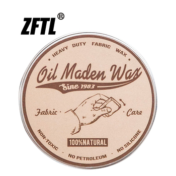 ZFTL Oil wax jacket repair special beeswax leather maintenance manual ancient method pure natural solid oil