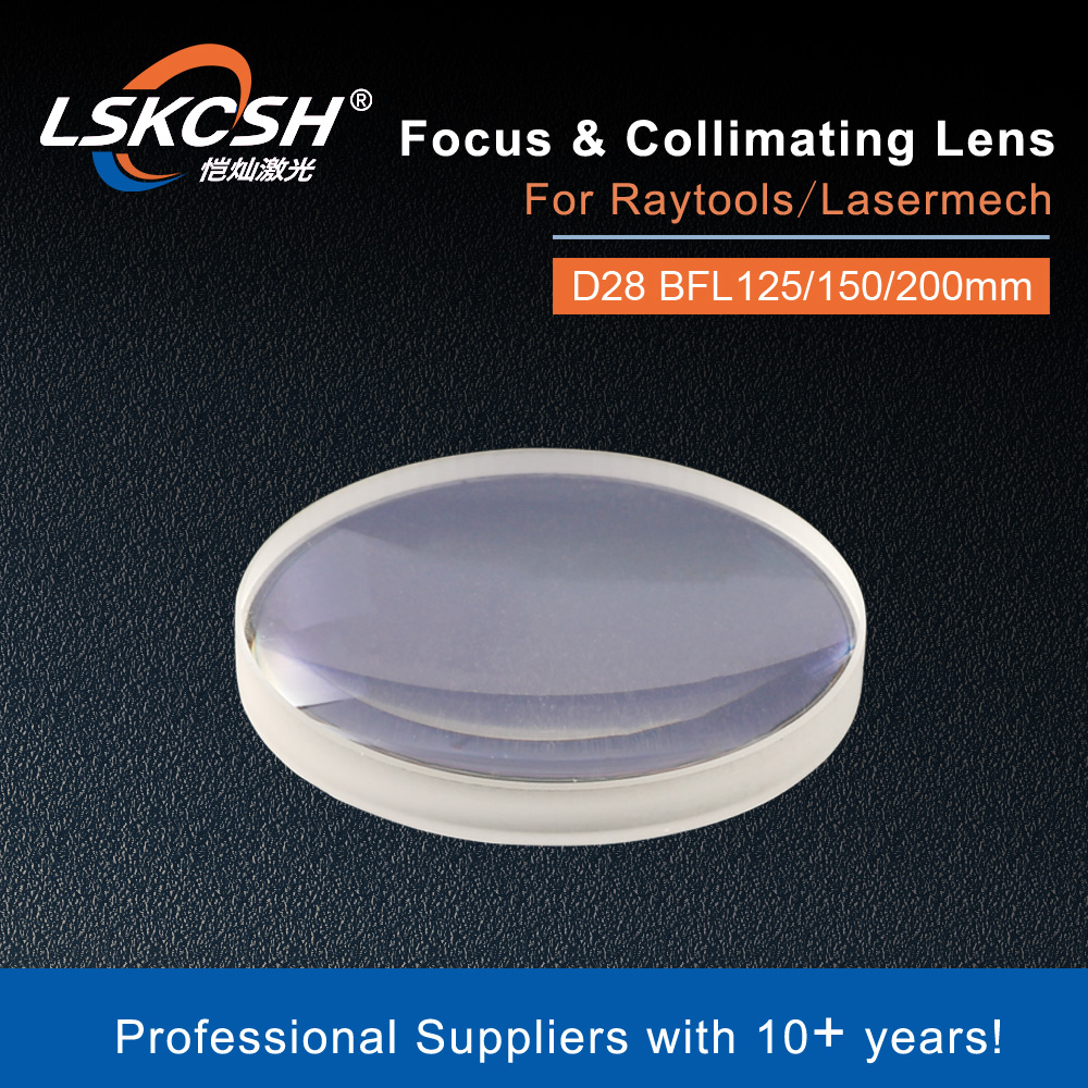Lskcsh lente ar 1064 7980 pcx d27.9 bfl100/125/150/200 para raytools/lasermech lente de foco/colimador fibermini/accufiber