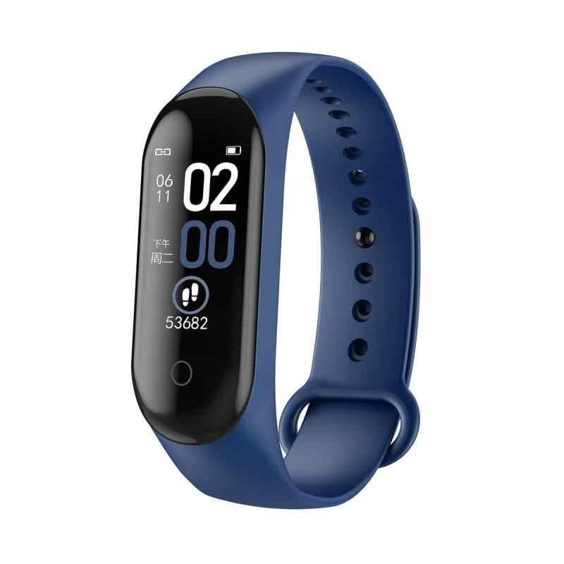 M4 חכם להקת כושר שעון ספורט צמיד לב קצב דם לחץ Smartband צג בריאות צמיד כושר צמיד