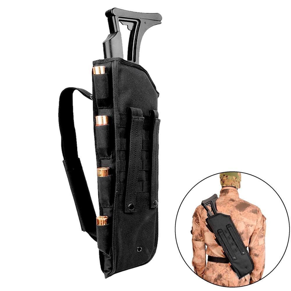 Bolsa de pistola de Rifle de escopeta táctica, funda protectora de 19 pulgadas, 1000D, Molle, para caza, Airsoft