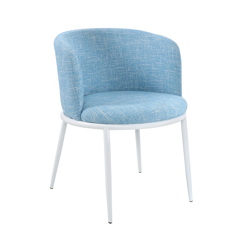 Coffee Negotiation Table And Chair Combination Reception Simple Indoor Home Leisure Creative Fabric Small Round Table Chair