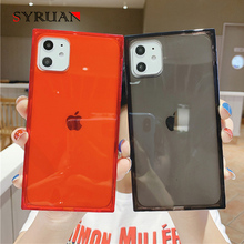 Fashion Square Design Case For iPhone 11 Pro X XS Max 6 6s 7 8 Plus Phone Case Shockproof Clear Soft TPU For iPhone X 11