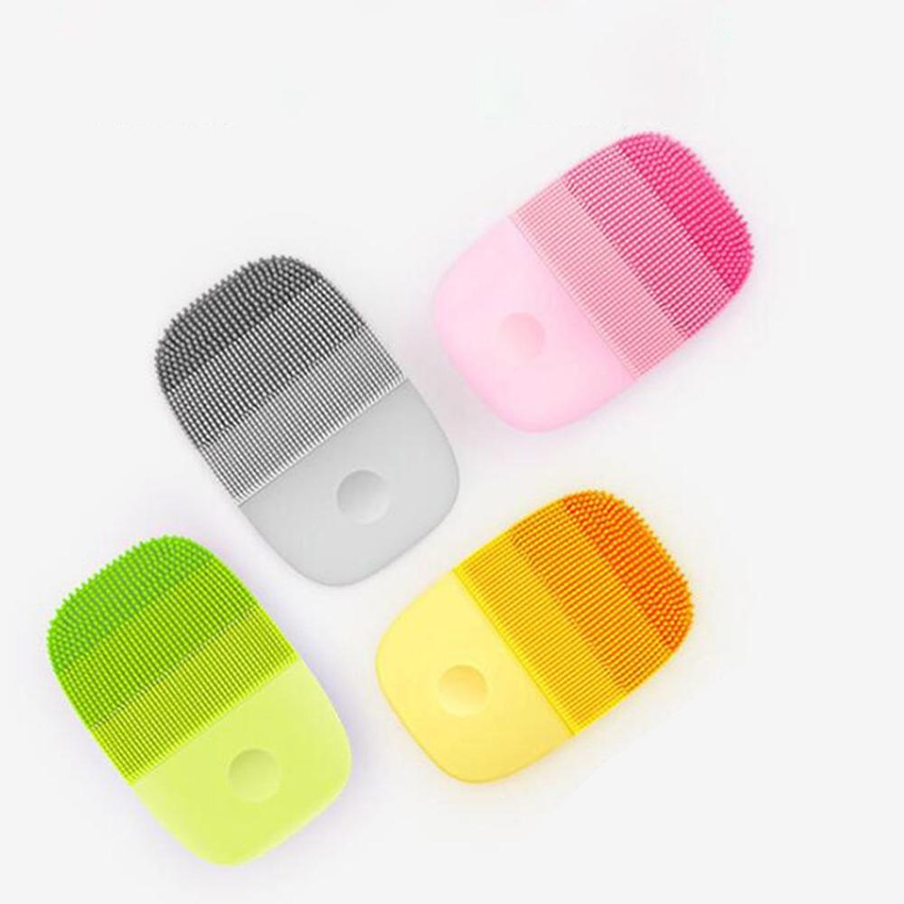 Xiaomi Electric Deep Facial Cleaning Massage Brush Sonic Face Washing IPX7 Waterproof Silicone Face Cleanser Skin Care