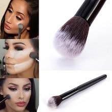 Profesjonalne piękno w proszku pędzel do różu fundacja korektor produkt do konturowania pędzel do makijażu pędzle narzędzie kosmetyczne Pincel Maquiagem