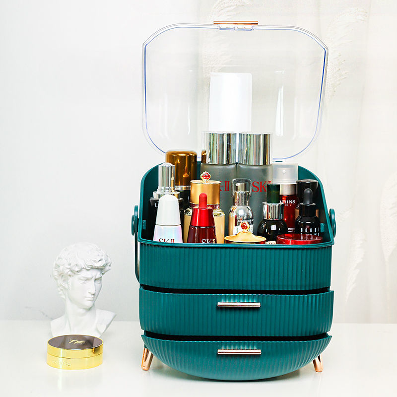 Boîte de rangement maquillage tiroirs