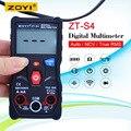 Цифровой мультиметр ZT-S4 True RMS  4000 отсчетов  AVO измеритель температуры переменного тока  600 В  Вольтметр + NCV