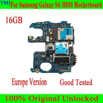 Placa base para Samsung Galaxy S4 i9505, 100% placa base Original desbloqueada de 16GB para Galaxy S4 i9505 con chips completos, bueno y probado