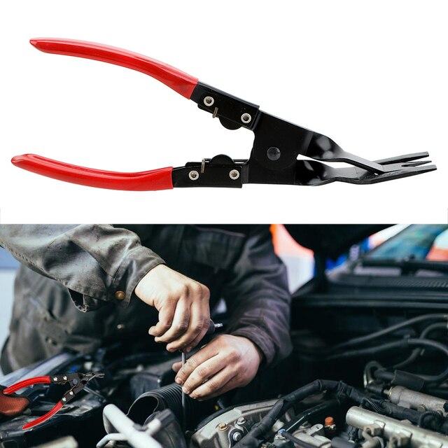 1 Pc Auto Repair Buckle Plier Metal Tools Car  Car Headlight Lens Opener Push Down Pincers Light Open Plier Rivet Removal
