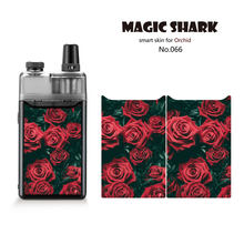 Magic Shark Snake Rose Skull V-Vendetta Captain American Julie Stereo PVC Sticker Case Cover Film Skin for Orchid(China)