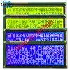 204 2004 ロシア cyrillic フォントビッグ文字サイズ lcd ディスプレイモジュールグリーンブルー 146*62.5 ミリメートル 1 個 LC2042 WH2004L