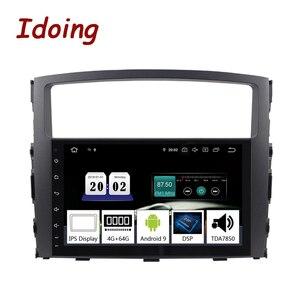 """Image 1 - Idoing 9 """"2 דין רכב PX5 4G + 64G אוקטה Core אנדרואיד 9.0 רדיו מולטימדיה וידאו נגן עבור מיצובישי פאג רו 4 V80 V90 V97 2din"""