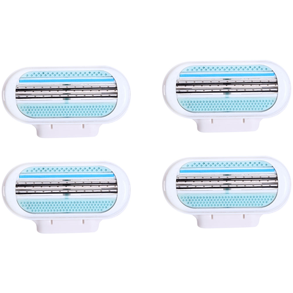 Best 4pcs Beauty Shave Razor Blade For Women Beauty High Quality Hair Removal For Venuse