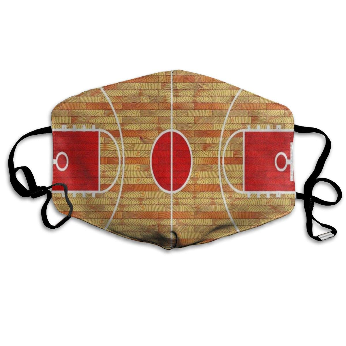 Ball Basketball Court Stylish Dust Mouth Mask Reusable Anti-Dust Face Mask Adjustable Earloop Skin Protection