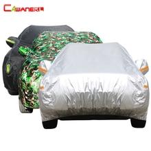 Cawanerl araba kılıfı SUV oto Sedan Hatchback UV Anti güneş yağmur kar dayanıklı koruma su geçirmez kapak tüm hava uygun!