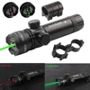 Hunting Tactical Red/Green Dot Laser Sight Adjustable Switch 532nm Mount Laser Pointer Rifle Gun Scope with Point Lazer