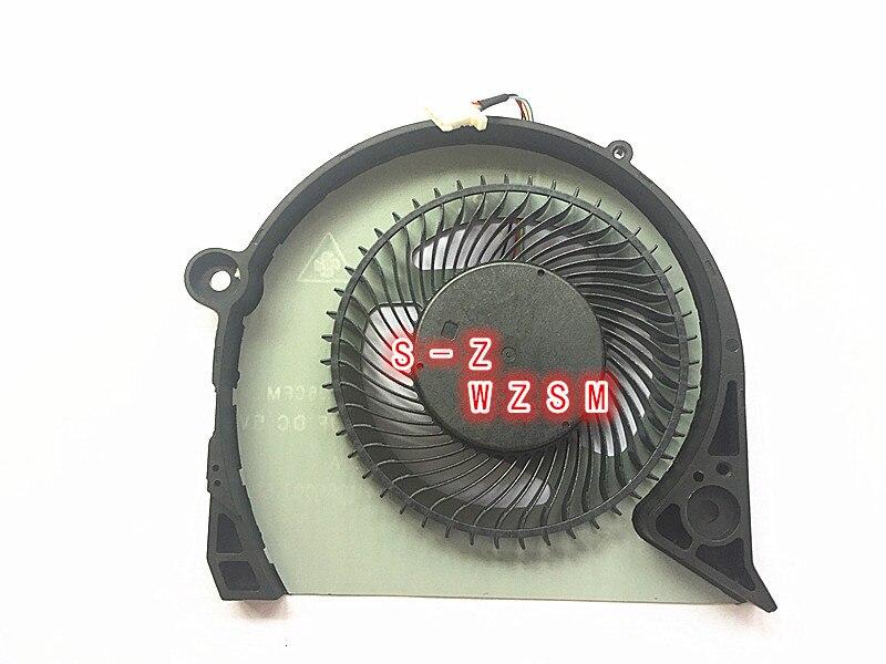 Wzsm novo original gpu ventilador de refrigeração para dell inspiron g7 15-7000 7577 7588 G5-5587 p72f refrigerador ventilador 2 jjcp fjqs dc5v 0.5a fjq