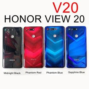 Image 2 - עבור Huawei Honor 20/20 Pro/צפה 20 חזרה סוללה כיסוי V20 אחורי זכוכית פנל דלת שיכון מקרה לכבוד 20 פרו סוללה כיסוי