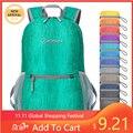 Mini Wasserdichte Faltbare Rucksack Leichte Packable 20L Rucksack für Wandern Camping Rucksack Außen Traval Männer Taktische Tasche