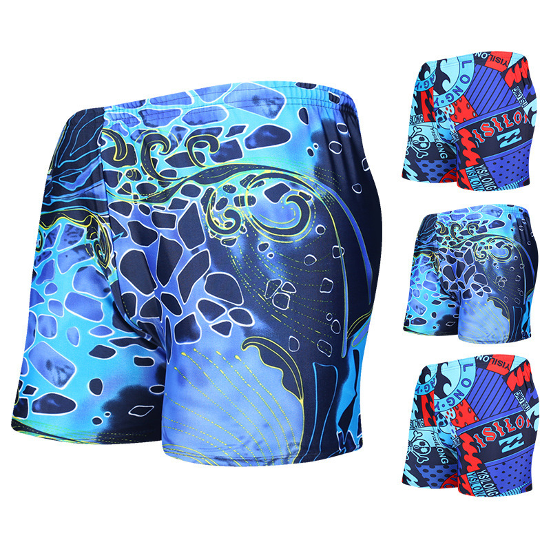 [300 Wearable] MEN'S Swimming Trunks Bubble Hot Spring Holiday Adult Large Size Boxer Shorts Yk202137