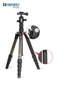 Image 1 - MC19 Carbon fiber stativ BENRO SLR kamera fotografie halterung micro einzigen berufs tragbare einbeinstativ