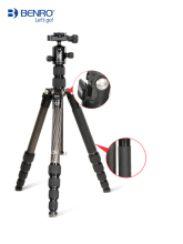 MC19 Carbon fiber tripod BENRO SLR camera photography bracket micro single professional portable monopod