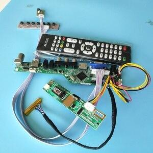 AV VGA USB TV 56 LCD светодиодный телевизор HDMI драйвер контроллера плата комплект кабель DIY для 30pin LTN160AT01 1366X768 панель экрана
