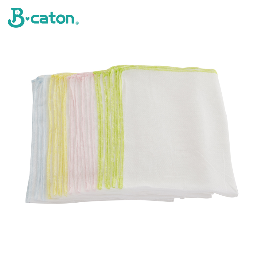 Towel Baby Bath Towel Vomit Milk Cotton Gauze Baby Diapers Soft And Absorbent  Household Multicolor Differential Use  50*68Cm