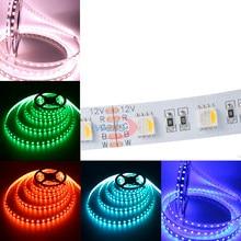 DC12V 5M 60Leds/m RGBW RGBWW 4 color in 1 led chip LED Strip, RGB White/warm white 5050 SMD flexible light IP30 IP65 IP67