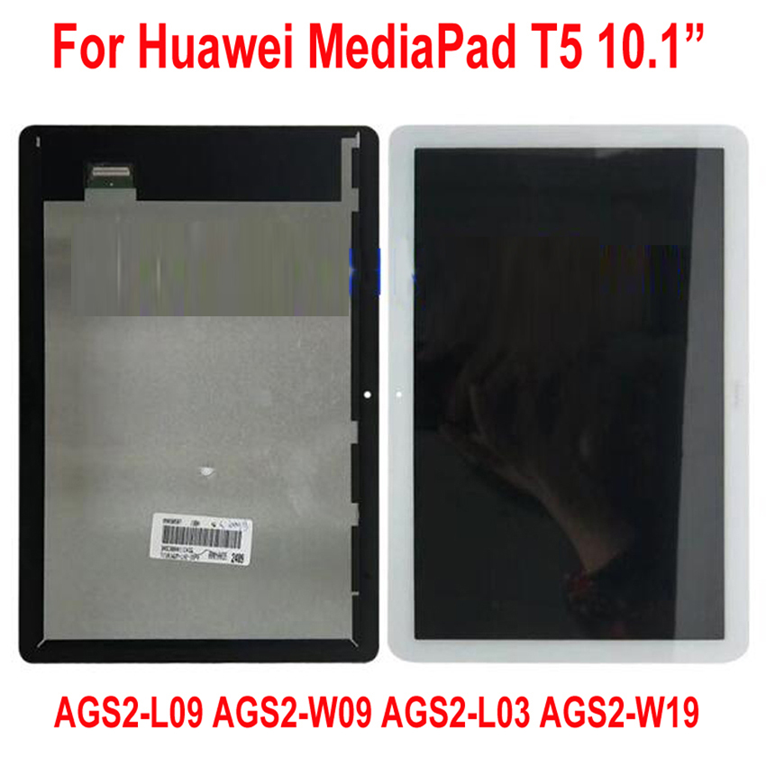 Best LCD Display Touch Screen Digitizer Assembly Sensor For Huawei MediaPad T5 10 AGS2-L09 AGS2-W09 AGS2-L03 AGS2-W19 AGS2-AL00