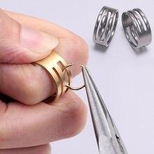 1 шт инструмент для открытия колец из нержавеющей стали и меди