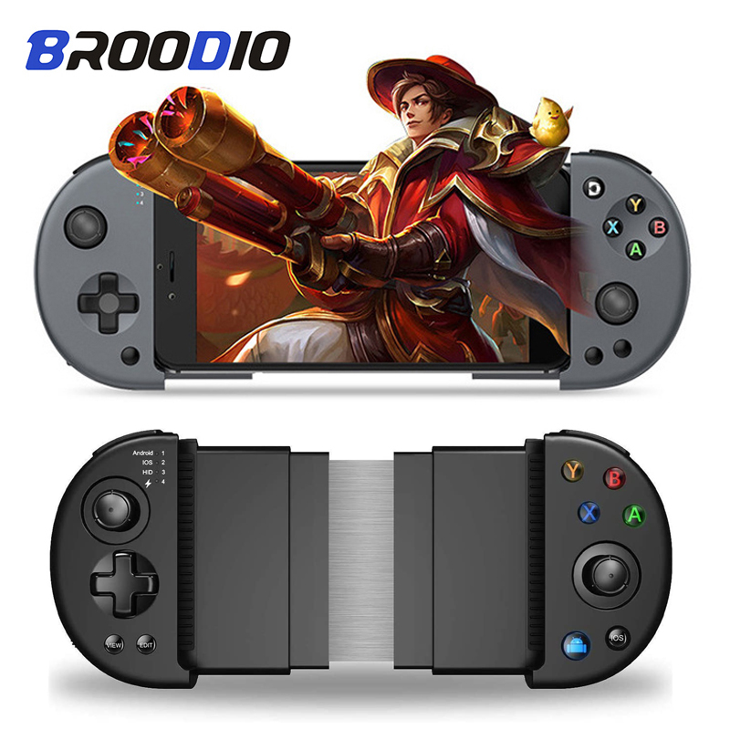 PUBG Controller Wireless Gamepad Joystick Trigger Pubg For iPhone Android Mobile Phone Gamepad For PC iPad TV Joypad Support iOS image