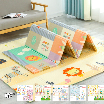 NEW Foldable Cartoon Play Mat Kid Rug Puzzle Infant Carpet Waterproof Early Education Gym Baby XPE Crawling Pad Rug Developing baby crawling mat waterproof foldable cartoon rug xpe puzzle children s mat climbing pad foam puzzle game blanket baby carpet