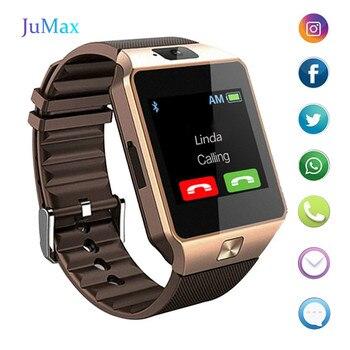 Smart Watch men android phone bluetooth Watch Waterproof Camera Sim Card Smartwatch Call Bracelet Watch DZ09 smart watch dz09 white