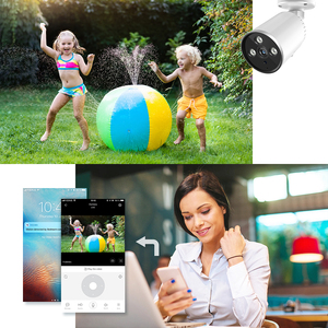 Image 4 - YCC365 1536P Camera WiFi 3.0MP Waterproof Bullet IP Camera Outdoor Security Cameras Wireless Infrared Night Vision CCTV Camera