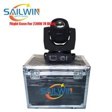цена на Stock 7R 230W Sharpy Moving Head Beam Light Stage Moving Head Light DMX Stage Light With Flight Case Road Case