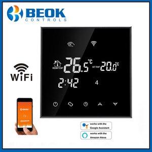 Image 2 - WiFi termostat akıllı sıcaklık kontrol elektrikli sıcak zemin termoregülatör Alexa ile çalışmak Google ev 200 240V