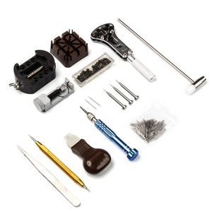 Image 3 - Watch Repair Kit, Professional Spring Bar Tool Set, Watch Battery Replacement Tool Kit Watch Band Link Pin Removal with Carrying