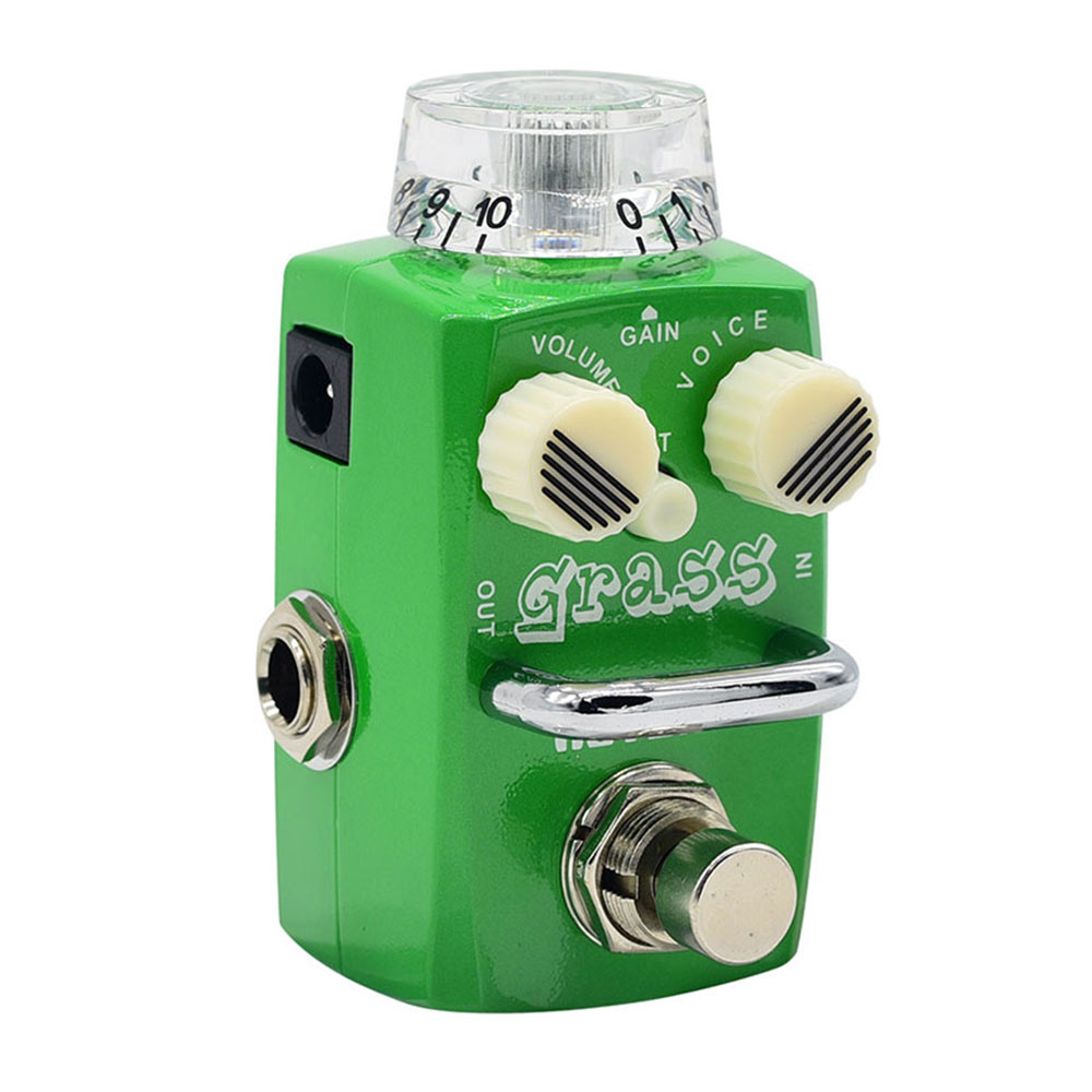Hotone Skyline Grass Analog Dumble Tone Overdrive Guitar Effects Pedal SOD-1