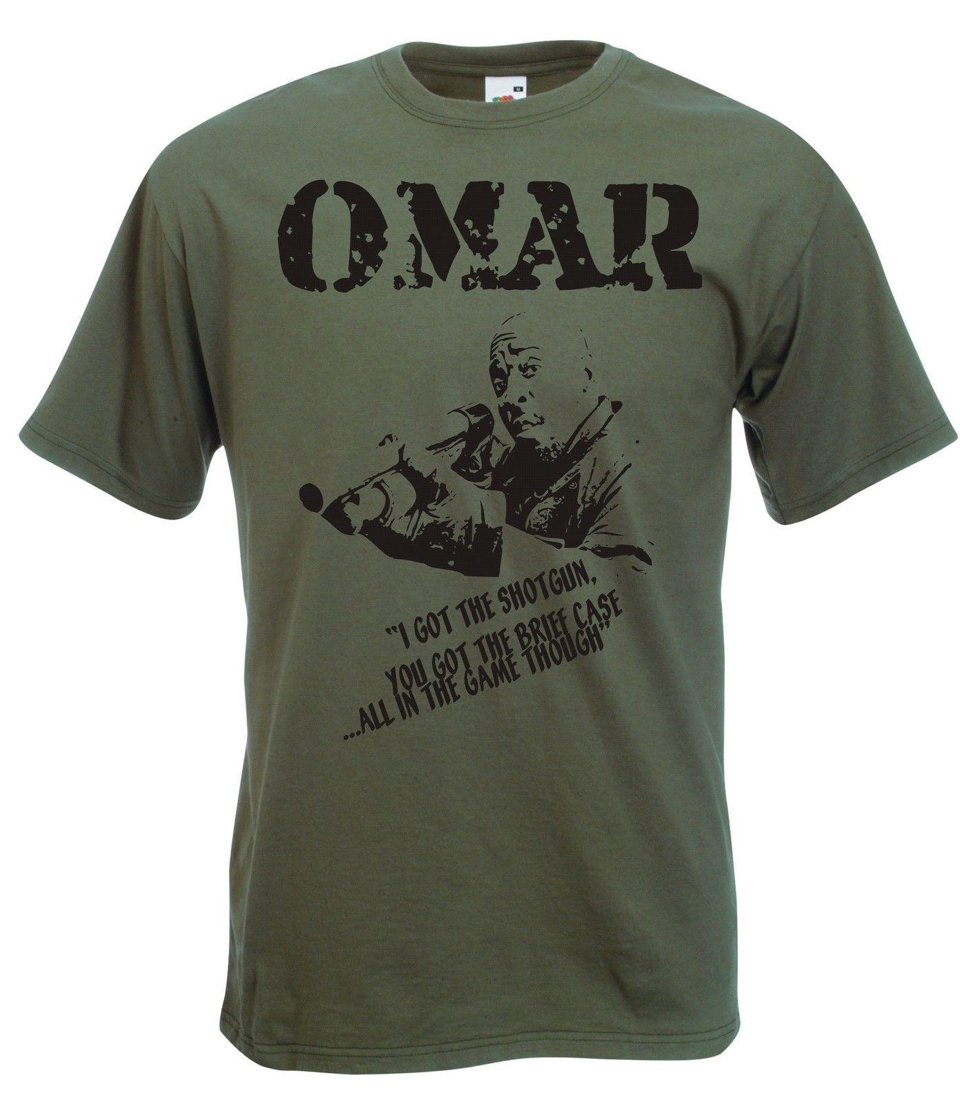 2019 offre spéciale Omar petit t-shirt le Fil Culte Tv Toutes Les Tailles et Couleurs t-shirt