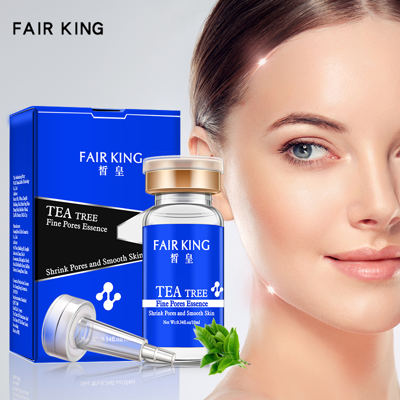 Tea Tree Shrink Pores Hyaluronic Acid Liquid Moisturizing Face Serum Whitening Plant Skin Care Anti Aging Anti Wrinkle Essence