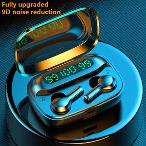 R3 Bluetooth гарнитура беспроводная гарнитура TWS наушники с микрофоном водонепроницаемые и шумозащитные HIFI наушники 2000 мАч